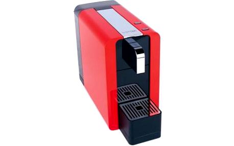 Kávovar pro přípravu kávy v profesionální kvalitě Cremesso Compact Manual Glossy Red