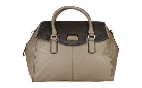 Elegantní černo-šedá kabelka Sisley