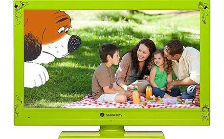 Televize Gogen MAXI TELKA 24 G, LED, v zelené barvě s úhlopříčkou 61 cm