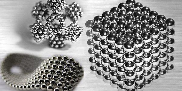 Originální a moderní kuličkové magnety Neocube
