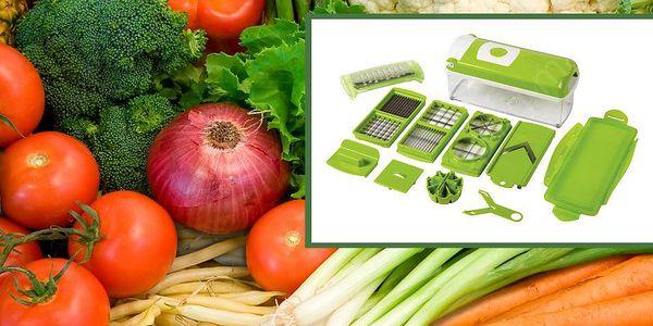 Multifunkční kráječ na zeleninu 14-ti dílný