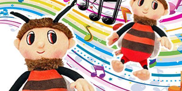 Zpívající včelí medvídek Brumda