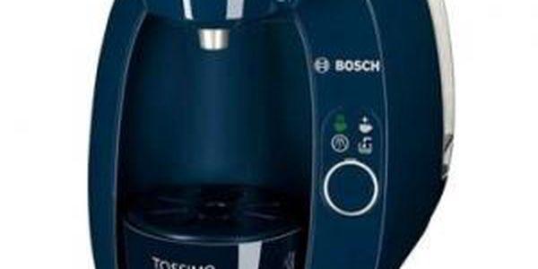 Moderní kávovar Tassimo T20 modrý TAS2006. Plnoautomatická příprava stiskem jednoho tlačítka.
