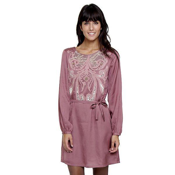 Dámské starorůžové šaty Peace&Love