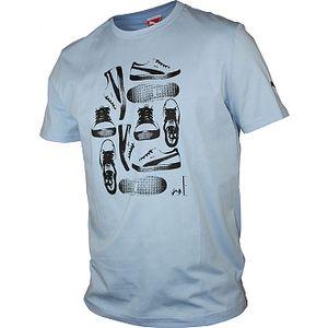 Pánské triko puma men tee blue