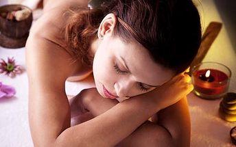 90 minutová masáž horkými lávovými kameny. Jedineč...