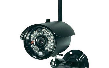 Bezdrátová venkovní kamera 2,4 GHz, 640 x 480 px, IP68, Conrad