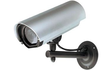 Atrapa kamery v hliníkovém pouzdře s LED
