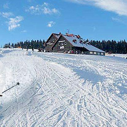 4denní lyžovačka v Peci pod Sněžkou s polopenzí
