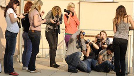 Celodenní kurz fotografování - zrcadlovka v praxi