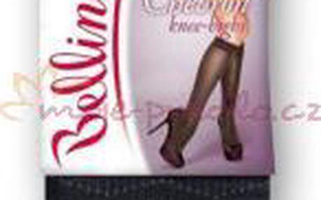 Velmi hezké a kvalitní dámské punčochové podkolenky Bellinda 222005 CHEVRON KNEE-HIGHS 40 DEN