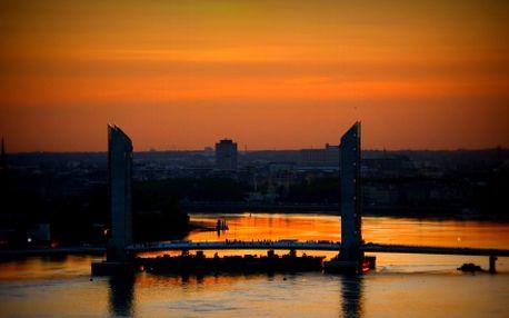 Víkendový výlet: zpáteční letenka Praha - Bordeaux, odlet 23.01.2014, návrat 27.01.2014