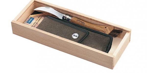 Bestseller Dárkový set - houbařský nůž no.8 a kožené pouzdro