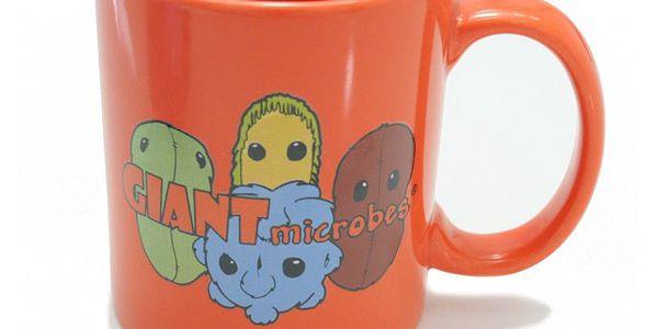 Zbožňujete obří mikroby? Hrnek na kávu s potiskem mikrobů!