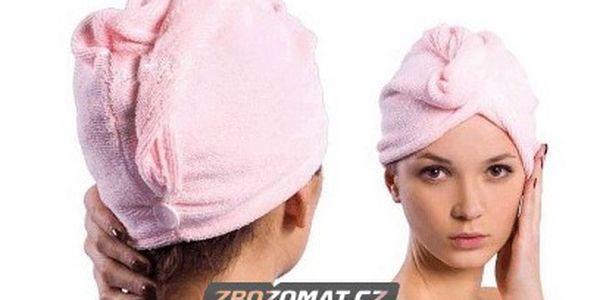 Set na vlasy - ručník z mikrovlákna a hřeben na mokré vlasy!