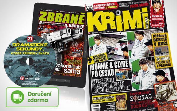 Předplatné časopisu Krimi revue + bonusy