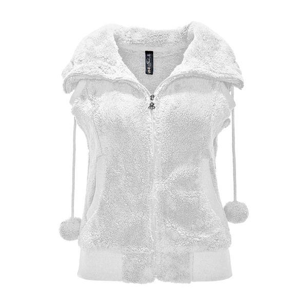 Dámská vesta Fresh Made bílá