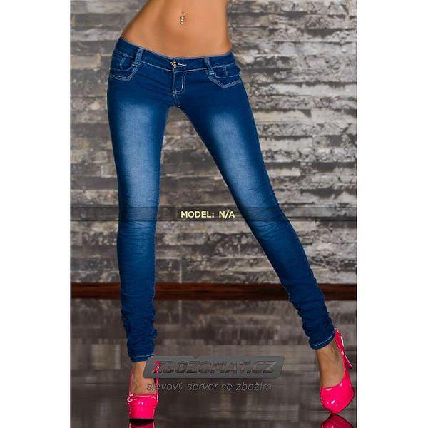 Módní přiléhavé džíny - na výběr 5 velikostí!