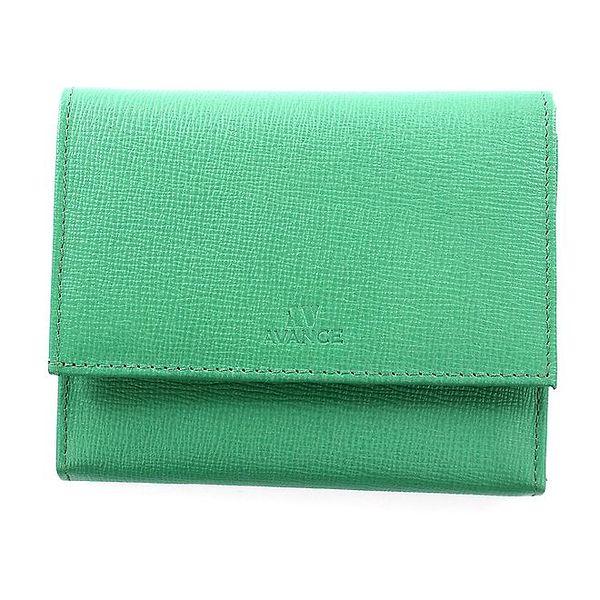 Dámská zelená kožená peněženka Menbur