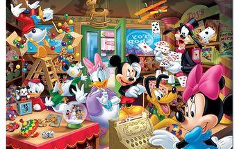 Puzzle Mickeyho obchod, 1000 dílků