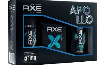 Axe kazeta Apollo 2 (deo 150ml+sprch.gel 250ml+toaletní voda 50ml)