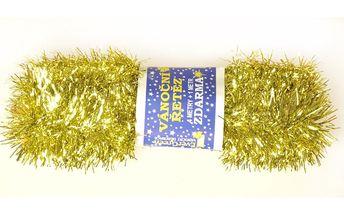Řetěz zlatý, 500 cm, sada 2 ks, HTH