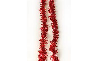 Řetěz Chunky, červený, 200 cm, sada 3 ks HTH