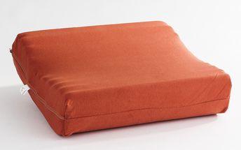 Anatomický polštář EXCLUSIVE 35/45 cm, Rotexim, oranžová