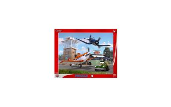 Puzzle Letadla V oblacích 40 dílků