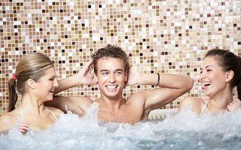 Vstup do sauny, vířivky či fitness od 600Kč