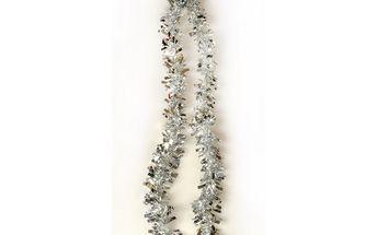 Řetěz Chunky, stříbrný, 200 cm, sada 3 ks HTH