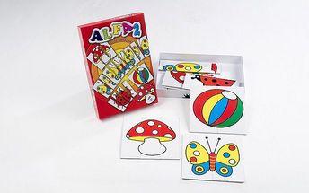 Didaktická hra Alfa 2 - rozvoj percepce, vynalézavosti a fantazie
