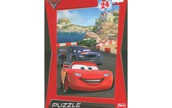 CARS 2: NA RIVIÉŘE - puzzle s dětským motivem