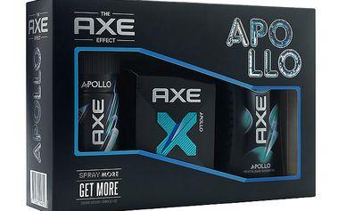 Axe kazeta Apollo 2 (deo 150ml+sprch.gel 250ml+toaletní voda 50ml)