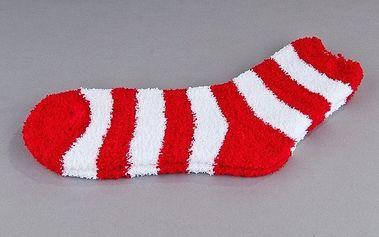 Sada 2 párů ponožek na spaní Batepo, červené