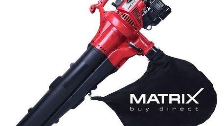 Benzínový vysavač listí Matrix GLB 31-3 - foukání, sání, mulčování