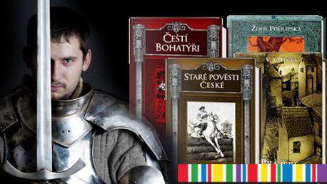 Knihy pověstí a legend od 99 Kč! K dispozici 17 titulů od Knihy Dobrovský!