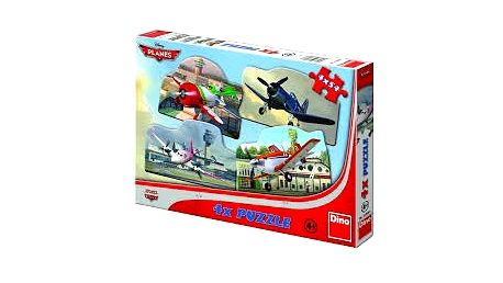 LETADLA - Dino Toys, 4 x 54 dílků