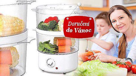 Parní hrnec pro zdravé vaření bez tuku