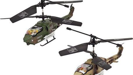 Vnitřní tříkanálový 17 cm vrtulník, 2ks, Buddy Toys