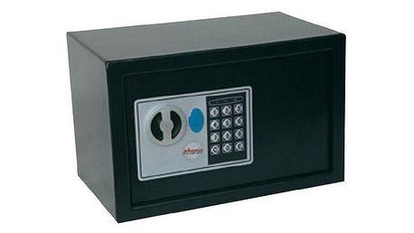 Trezor Phoenix Compact SS0722E, 310 x 200 x 200 mm, černá - vhodný k ochraně cenných předmětů