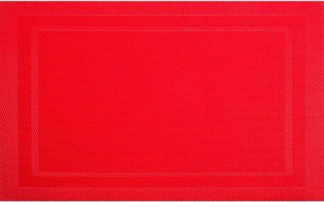 Prostírání Ambition, 30x45 cm, sada 4 kusů, červená