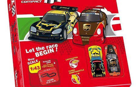 SCX GT Compact Circuit - autodráha a 2 skvělá autíčka