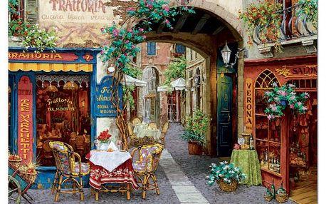 Puzzle Hostinec Tre Marchetti, 1000 dílků