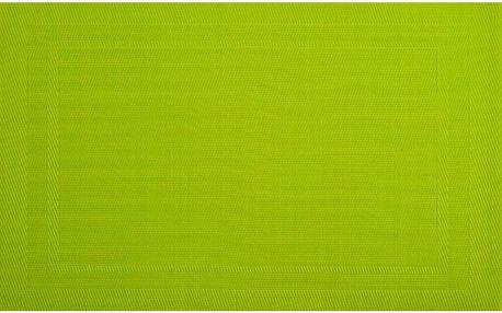 Prostírání Ambition, 30x45 cm, sada 4 kusů, zelená