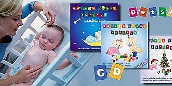 3 CD s hudbou dětská hrací skříňka pro kojence a malé děti - Speciální vánoční akce!