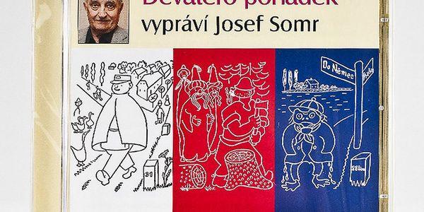 Devatero pohádek CD - namluvil Josef Somr