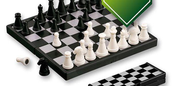 Cestovní magnetické šachy a poštovné ZDARMA s dodáním do 3 dnů! - 2006697