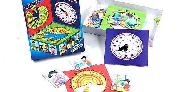 Didaktická hra Gama 3 - seznamování dítěte s časovými mírami