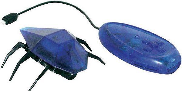 Desk Pets Skitterbot DP-SB-1831, modrá